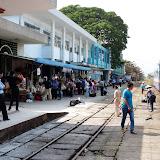 Togstationen i Da Nang (tæt ved Hoi An)