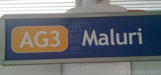Font Trebuchet di LRT Maluri