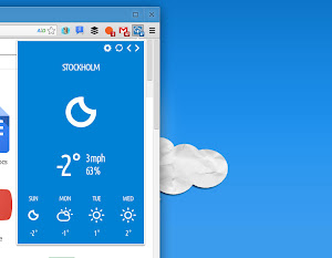 Stormcloud su Google Chrome