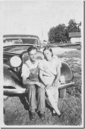 Bert & Ollie Onene (Littrell) Curtis