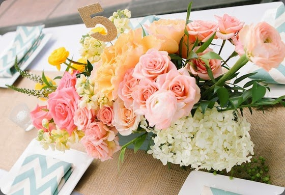 table numbers Wooden Box Centerpiece with Pink JJ cori cook and  Kerinsa Marie Photography