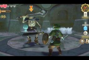 zelda ss combat