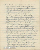 Gedicht 10 jarig bestaan 'Een in Streven' blz. 4