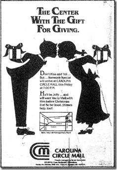 Christmas Ad November 1986