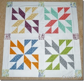 Lucky in Simply Color quilt top