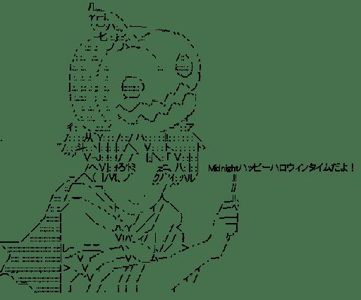 平沢憂 ハロウィン (けいおん!)