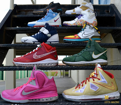justin amazing sn select feature 28 Justin Amazings Nike LeBron Sneaker Collection by SN Select