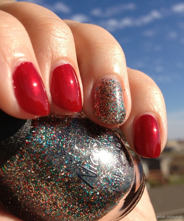 Nicole by OPI Keeping Up with Santa with Kardashing Through the Snow