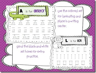 Handwriting activity pic