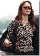 Cashmere Animal Print Cardigan Now £112