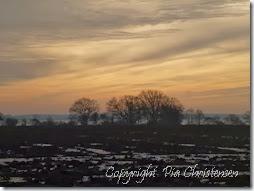 Solnedgang 2. februar 2014