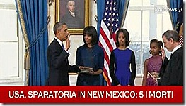 Juramento de Obama - com legenda. Jan 2013
