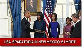 Juramento de Obama - com legenda. Jan 2013