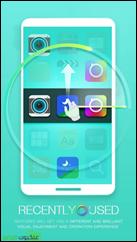 عن طريق الإيماءات يمكنك الوصول إلى أخر التطبيقات المستخدمة