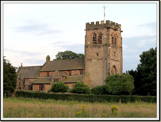 Nether Alderley church