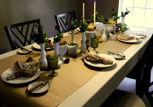 Thanksgiving table8