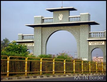 KA-TN Border