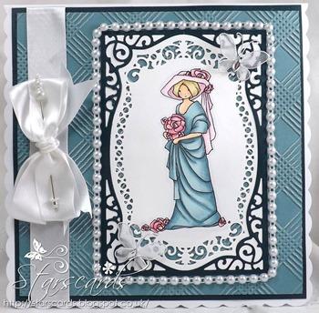 Eileen - pearls & pins