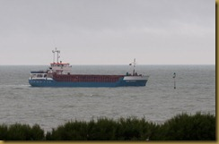 Lore Prahm entering River Arun at Littlehampton
