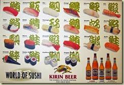 04 Types of Sushi