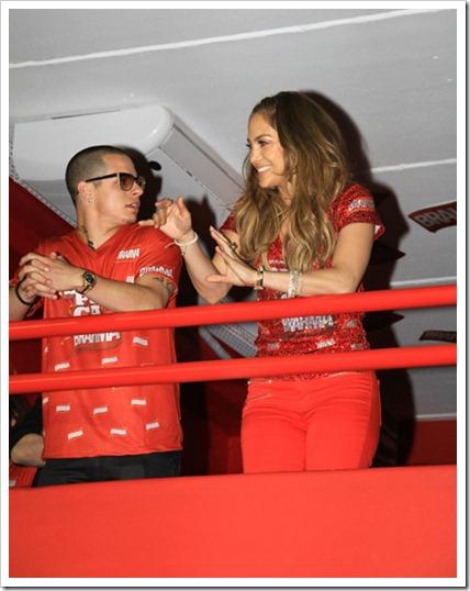 Jennifer Lopes e o namorado