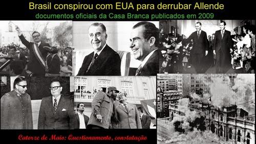 Apoio Brasil EUA Chile