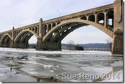 Ice on the Susquehanna River, 2/2014, by Sue Reno, Image 3