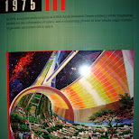 in space living concept from 1975 in Cape Canaveral, Florida, United States
