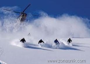 Heli-skiing, Kanada