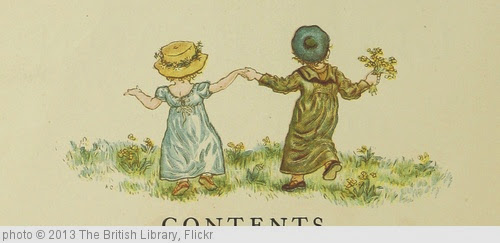 'Image taken from page 10 of 'Little Ann, and other poems. ... Illustrated by Kate Greenaway, etc'' photo (c) 2013, The British Library - license: http://www.flickr.com/commons/usage/