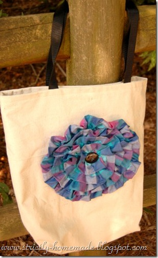 Teacher Flower Tote