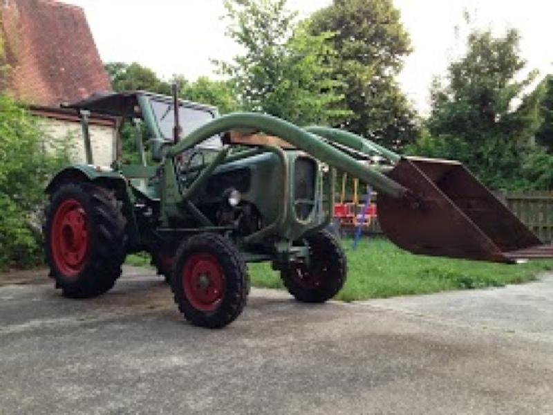 traktor g ldner toledo a4ms mit baas frontlader eur 3. Black Bedroom Furniture Sets. Home Design Ideas