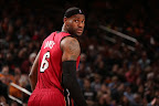 lebron james nba 130301 mia at nyk 12 LeBron Debuts Prism Xs As Miami Heat Win 13th Straight