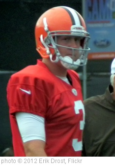 'Brandon Weeden' photo (c) 2012, Erik Drost - license: http://creativecommons.org/licenses/by/2.0/