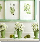 Spring-mantel-with-botanical-prints6