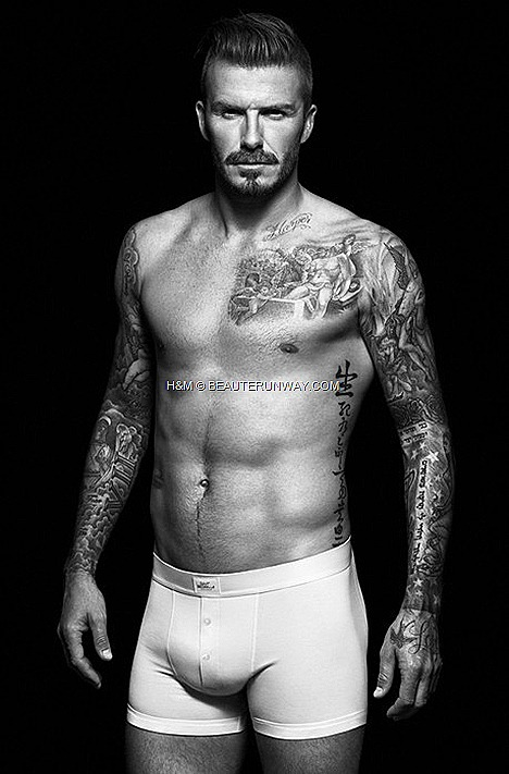 David Beckham bodywear collection for H&M Fall Winter 2012 2013 Collection ad campaign briefs, boxers, vests, T-shirts, Henleys, pyjamas long johns comfortable form, fit design underwear classics in store onlined design underwear