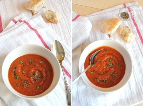 zuppa di pomodoro e finocchi