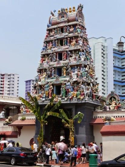 Sri Mariamman Temple, South Bridge Street, Singapore