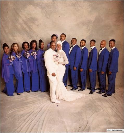 In addition Johnson designed the groom 39s white doublebreasted silk tuxedo