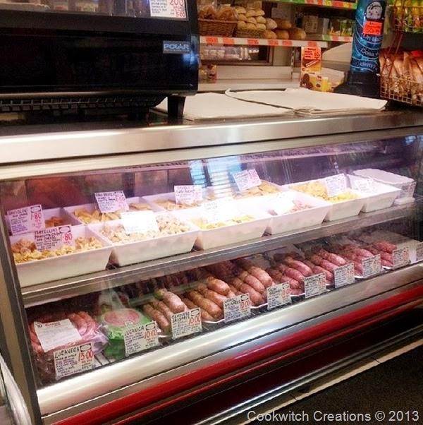 Gazzano fresh pasta and sausages