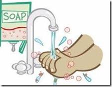lavarse  las manos(re)
