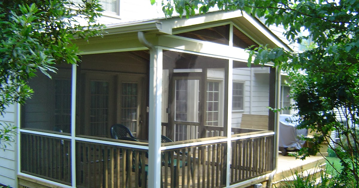 Screened In Porch Casual Cottage