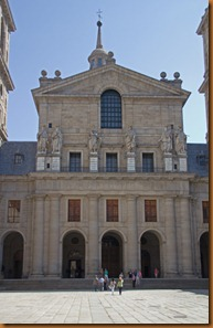 El Escorial church facade