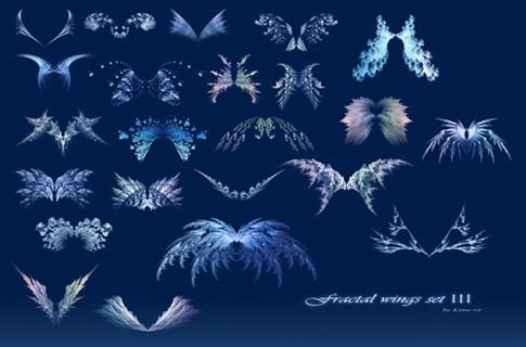 Pinceles de alas de cristal