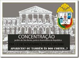 Concentração São bento - Associação Nacional de Sargentos. Nov 2013