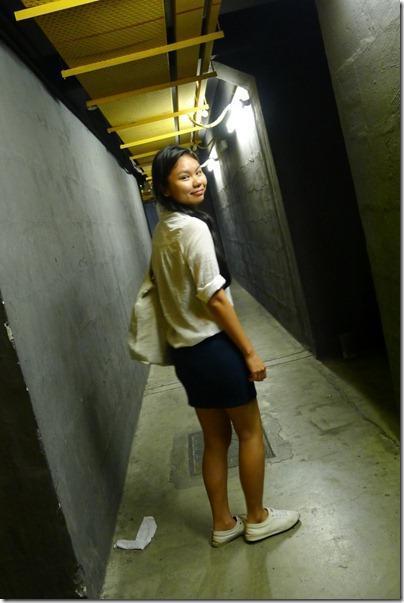 sheer shirt x bandage skirt