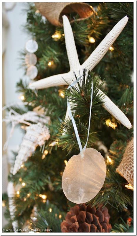 Capiz Shell Ornament