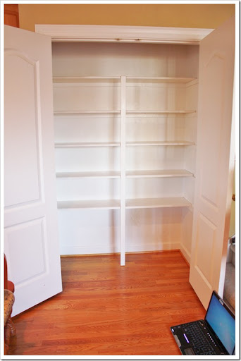 install pantry shelves 2