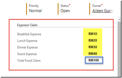 Business Rules Calculate Multiple Field Result On Change