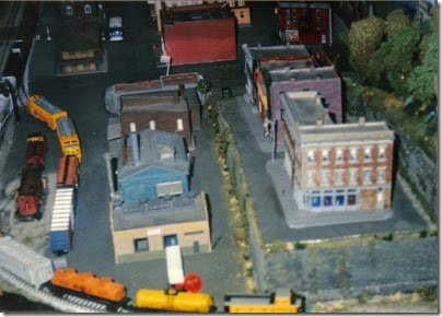 10 N-Scale Layout at the Triangle Mall in November 1995